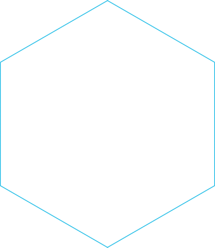 blue-hexagon